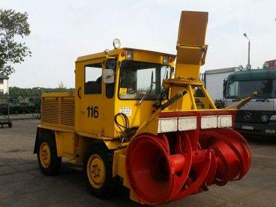 Pług wirnikowy ROLBA R400D dmuchawa do śniegu