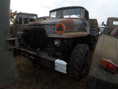 Samochód ciężarowy URAL-375
