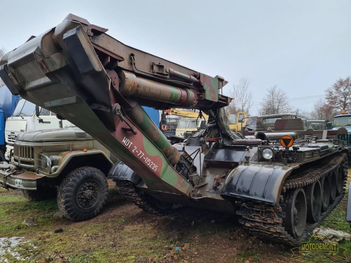 BLG-67 na podwoziu gąsienicowym T-55