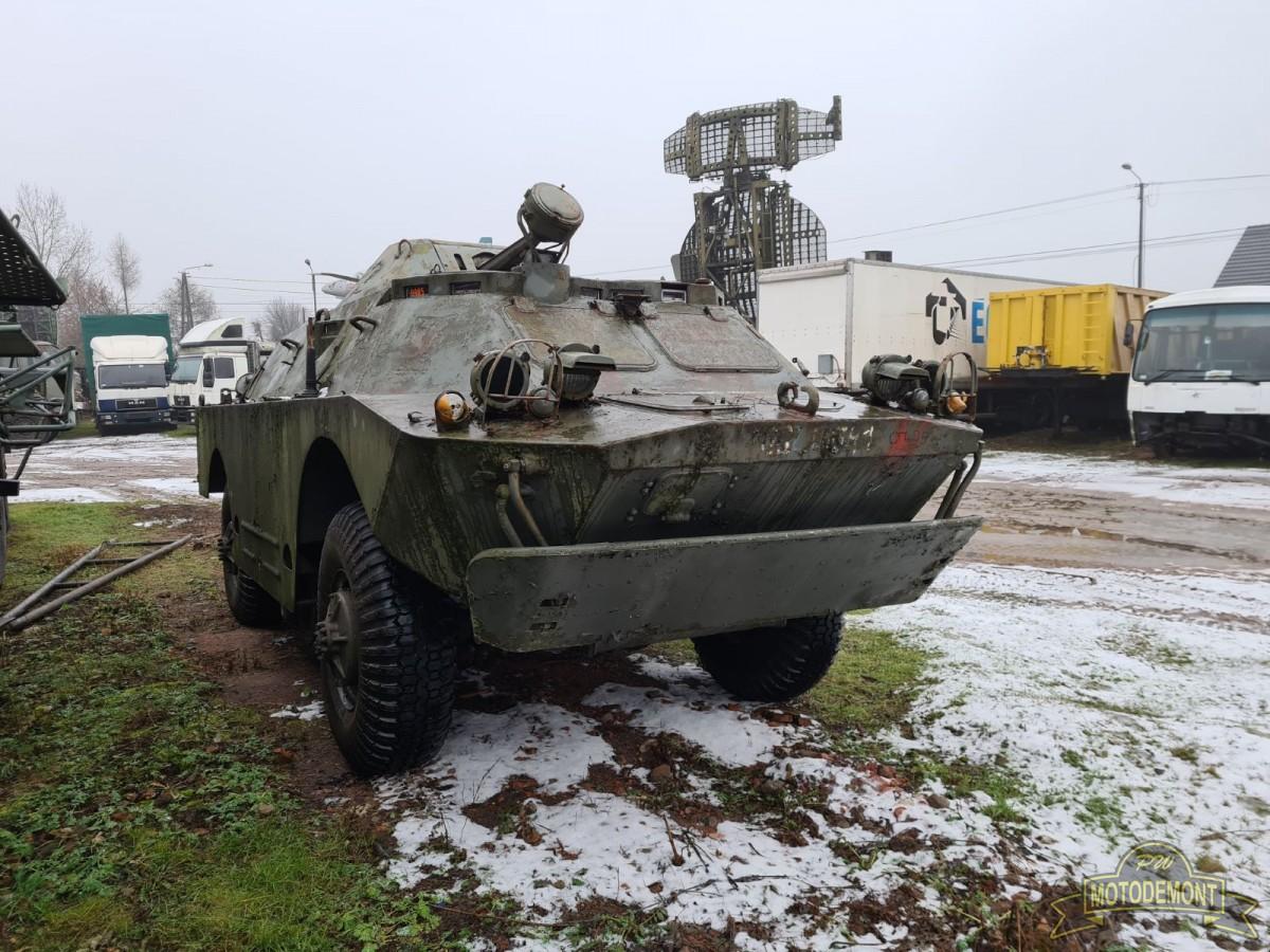 Opancerzony samochód rozpoznawczy BRDM-2