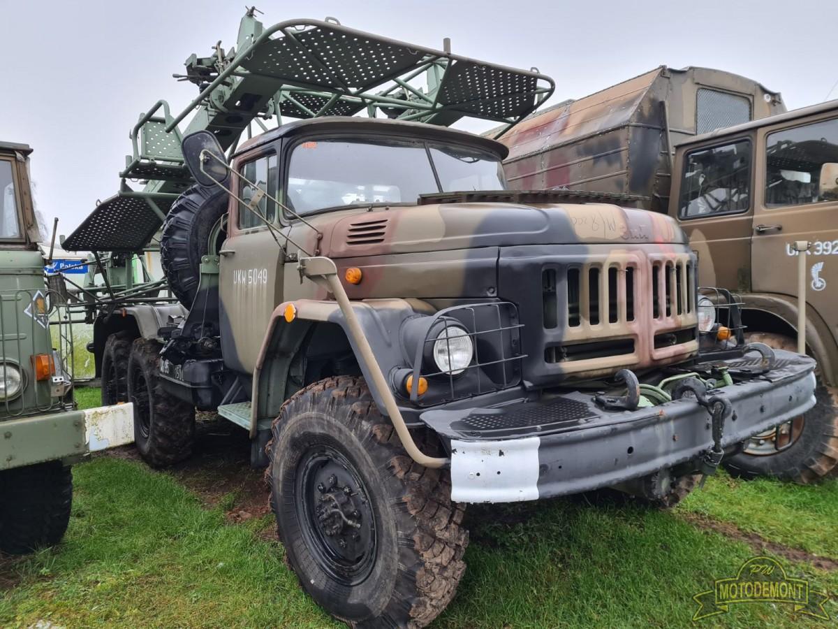 Samochód transportowo-załadowczy PR-14SC na ZIŁ 131