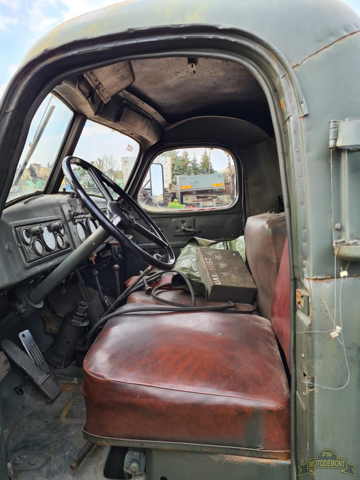 Samochód transportowy 9T22B (KUB) na ZIŁ 157KB